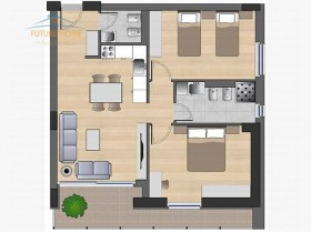 Shitet, Apartament 2+1, Fiori Di Bosco