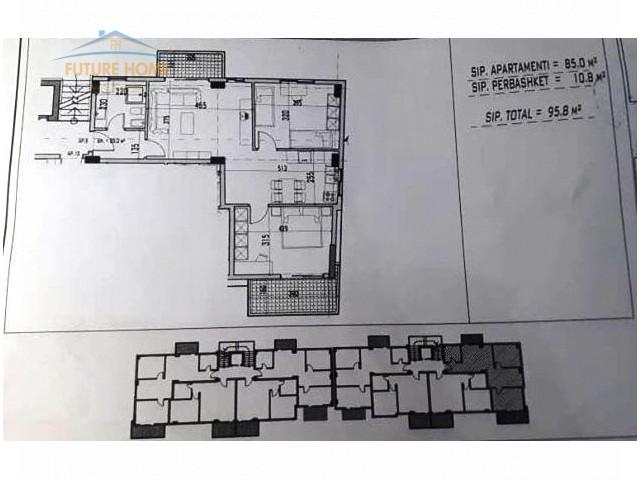 Shitet, Apartament 2+1, Fresku...