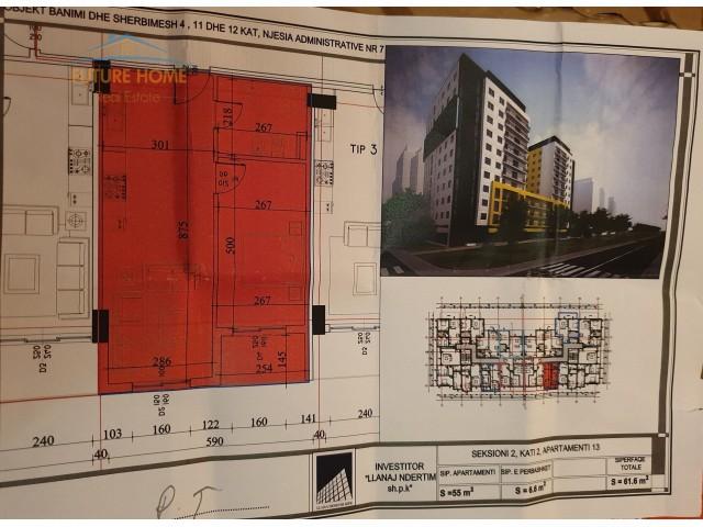 Apartament 1+1, Fusha e Aviaci...