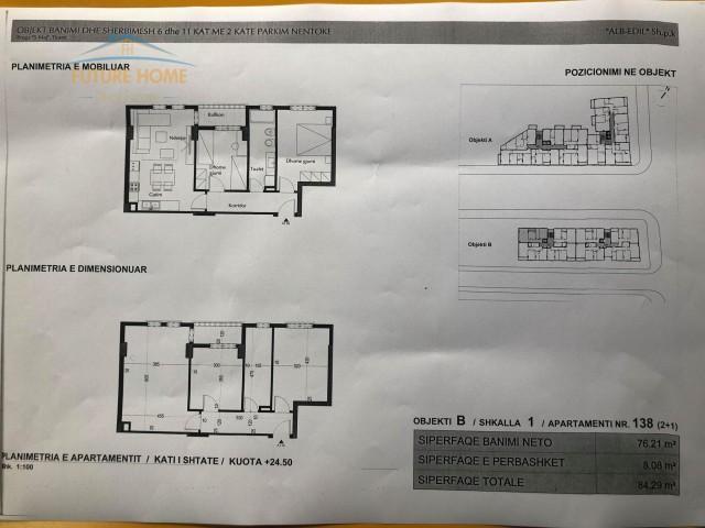 Shitet,Apartament 2+1,Rruga 5 Maji...