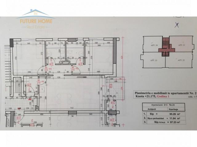 Apartament 2+1, Fusha e Aviaci...