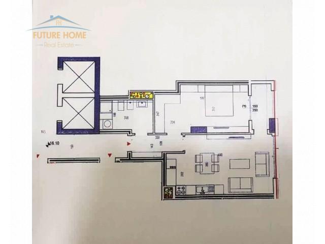 Shitet, Apartament 1+1, Rruga e Kavajes, Kompleksi...