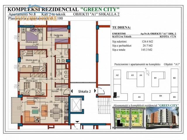 Apartament 3+1,Green City...