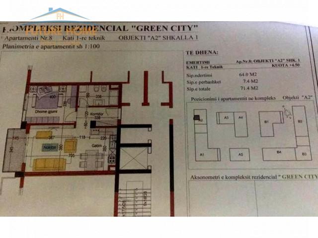 Apartament 1+1 Green City...