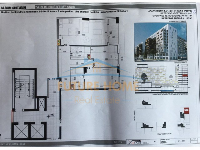 For Sale, Apartment 2 + 1, Str...