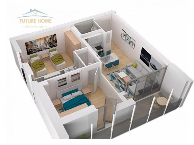 For sale, Apartment 2 + 1, Fiori Di Bosko...