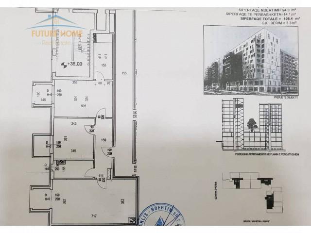 Shitet, Apartament 2+1, Rruga e Kavajes, Kompleksi...