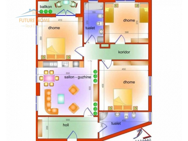 For Sale, Apartment 3 + 1, Elb...