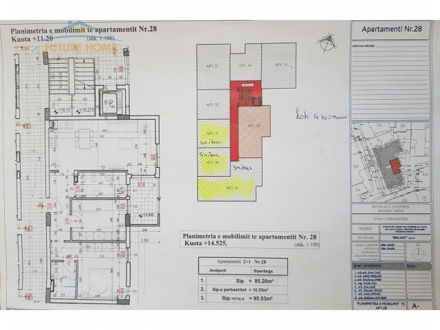 Apartament  2+1 për shitje 21 Dhjetori...