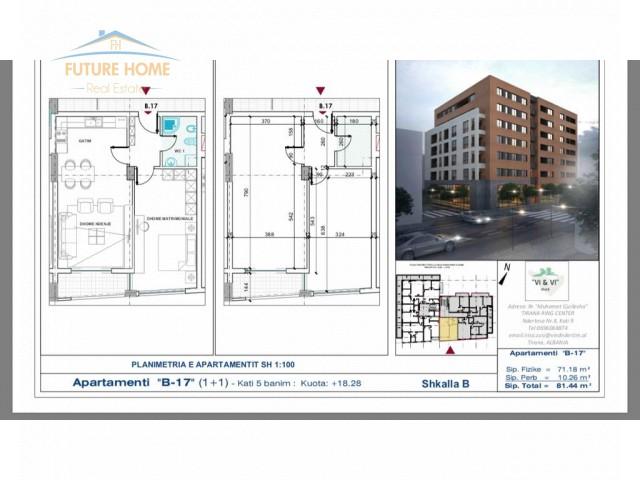 For sale, Apartment 1 + 1, Ali Demi...