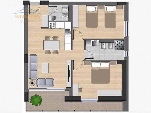 Shitet, Apartament 2+1, Fiori ...