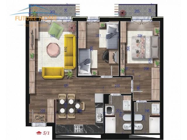 Shitet, Apartament 2+1, Don Bosko...