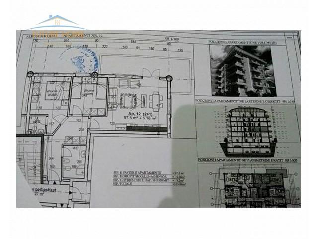 Apartament 2+1 për shitje Fresku...