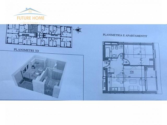 Apartament 1+1 për shitje Fiori Di Bosko...