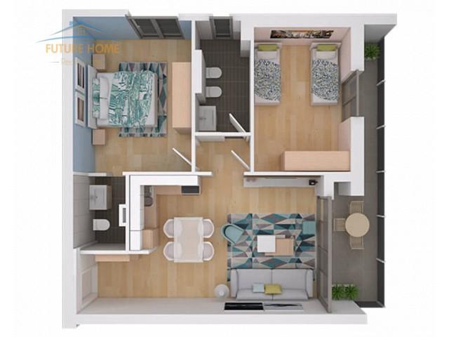 Shitet, Apartament 2+1, Fiori Di Bosco...
